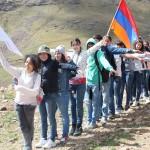 Սեբաստացիները Գեղարոտի ջրվեժում